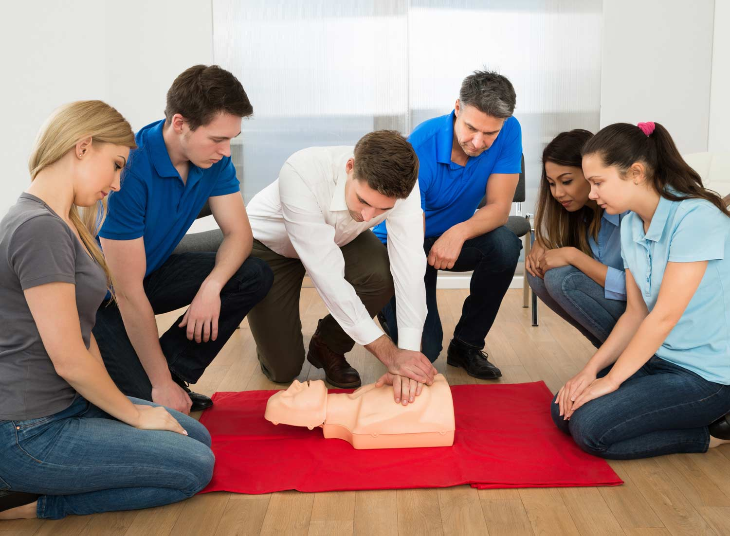 Providing courses in First Aid, Health & Safety and Care